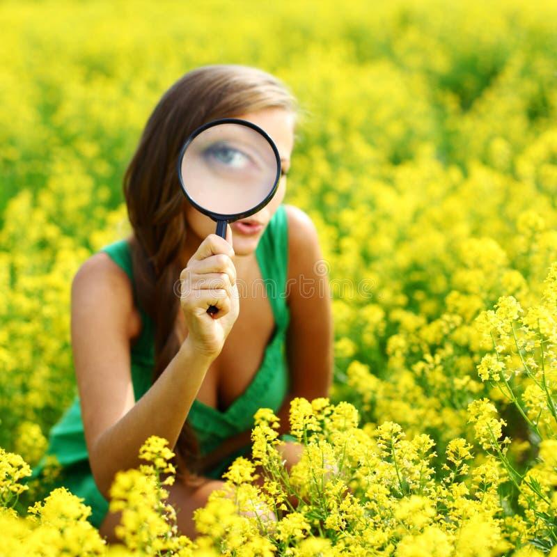 Botaniste photo libre de droits