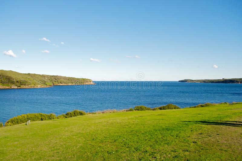 Botany Bay, La Perouse. Entrance to Botany Bay, La Perouse, Sydney, Austaralia royalty free stock photos