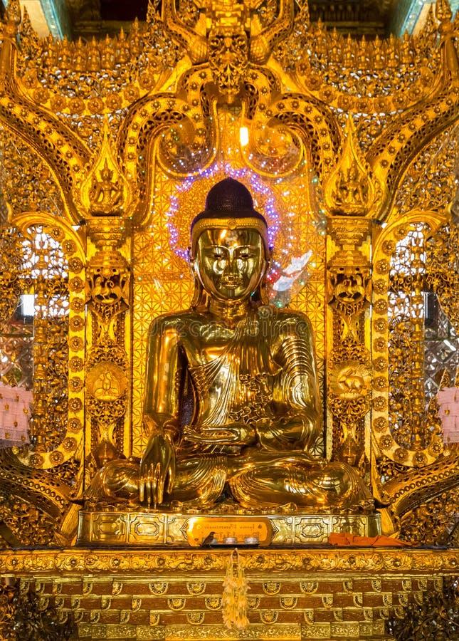 Botataungs-Pagode, Rangun, Myanmar lizenzfreies stockfoto