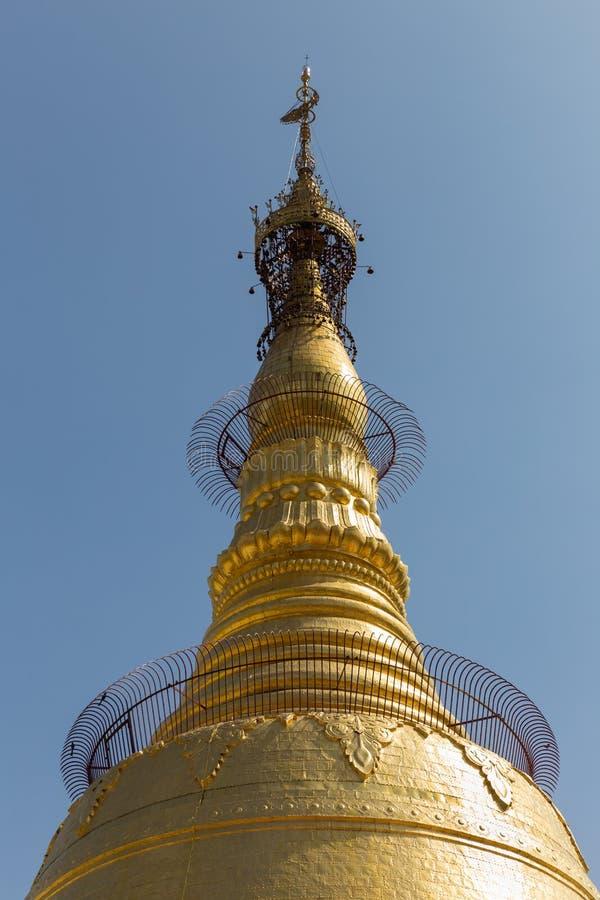 Botataungs-Pagode, Rangun, Myanmar lizenzfreie stockfotos