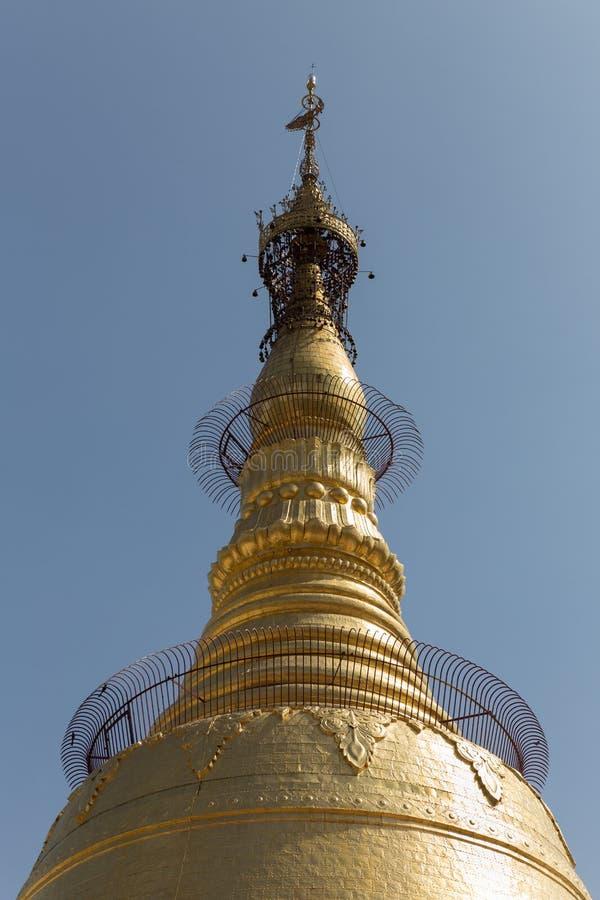 Botataungs-Pagode, Rangun, Myanmar stockfotografie