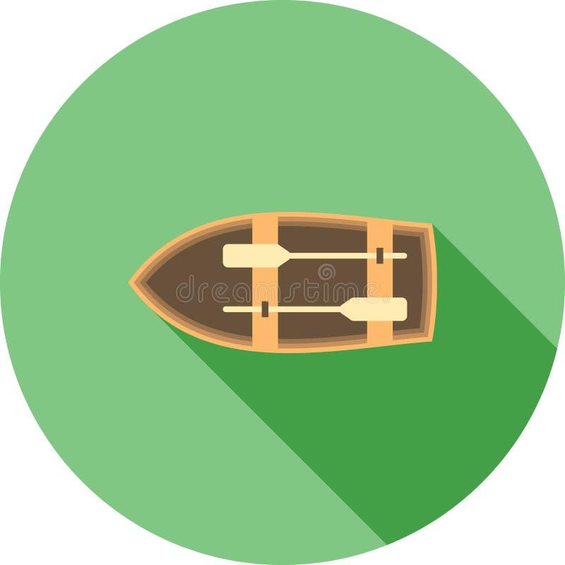bote ilustración del vector