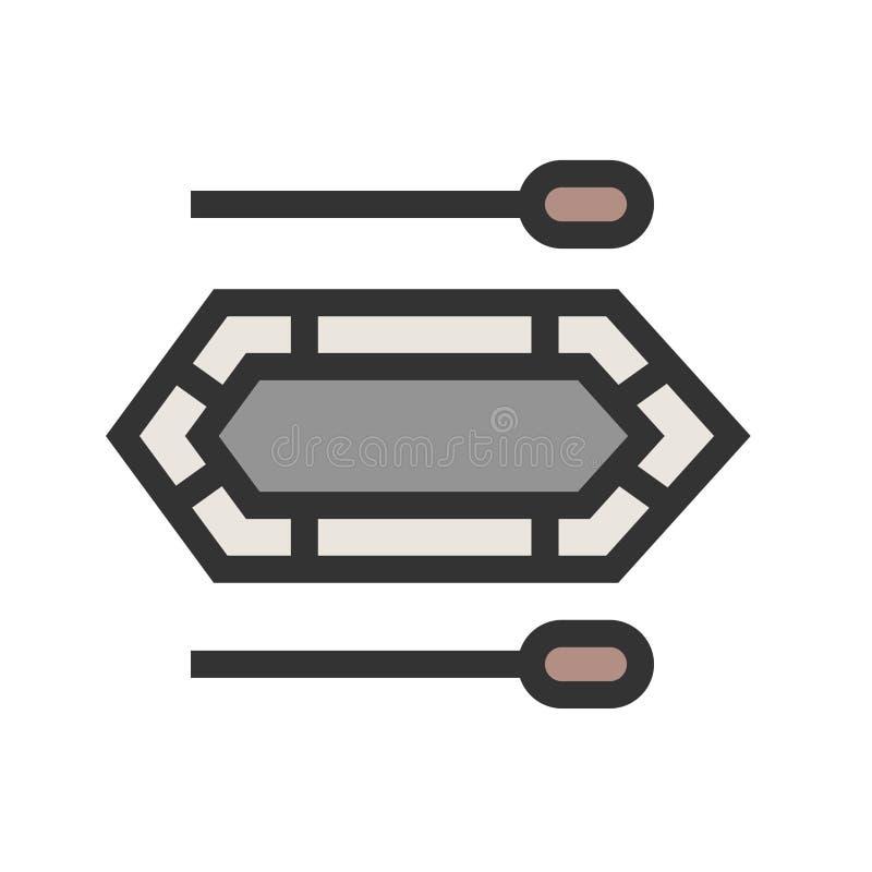 bote stock de ilustración