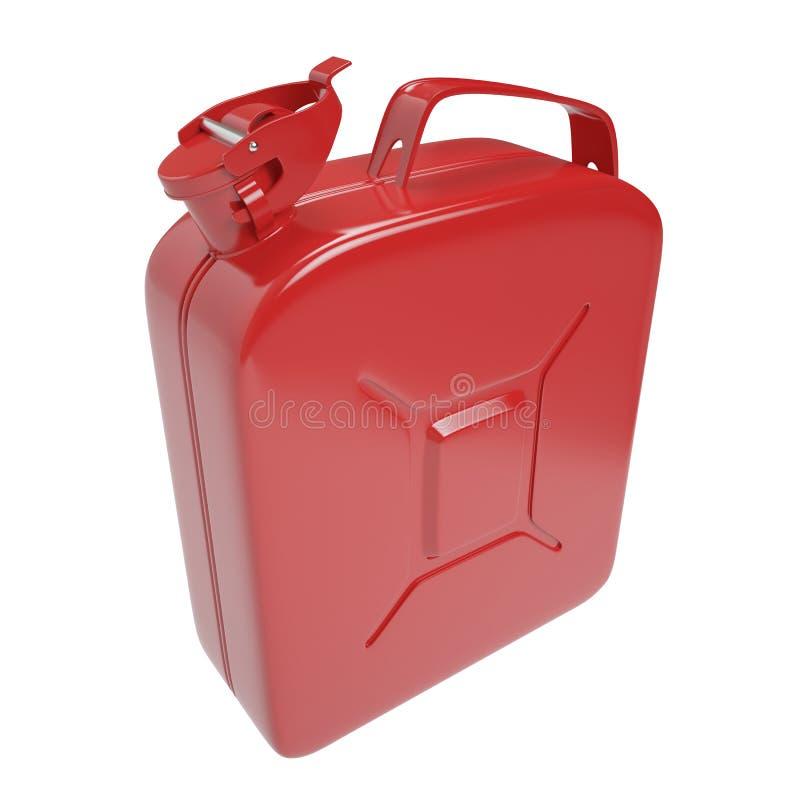 Bote, bidón del combustible stock de ilustración