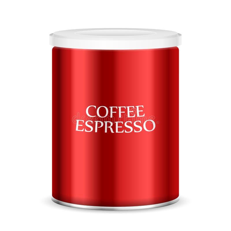 Bote del café stock de ilustración