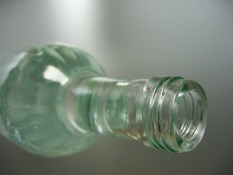Botella Blanca Fotografía de archivo