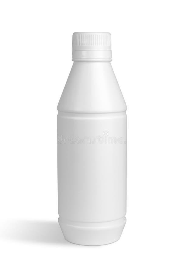 Botella blanca fotos de archivo