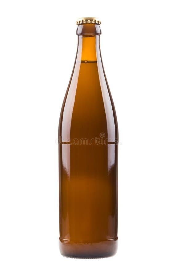Botella con la cerveza fotos de archivo libres de regalías