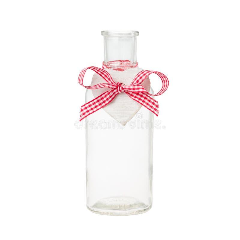 Botella con la etiqueta imagen de archivo