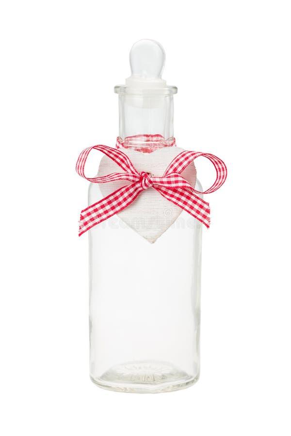 Botella con la etiqueta imágenes de archivo libres de regalías
