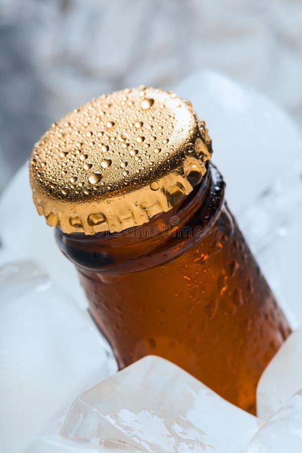 Botella con los refrescos fotos de archivo