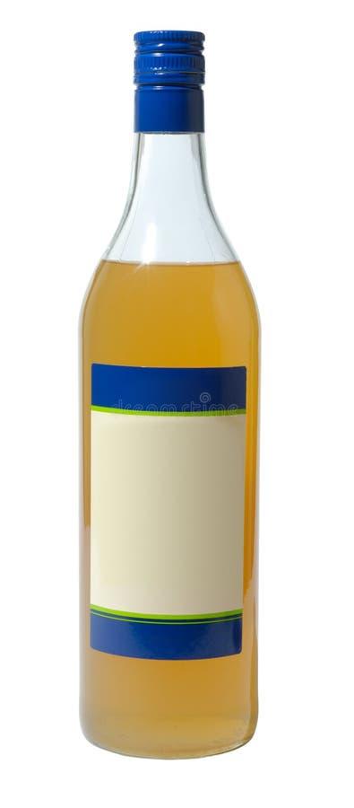 Botella con Sirup imágenes de archivo libres de regalías