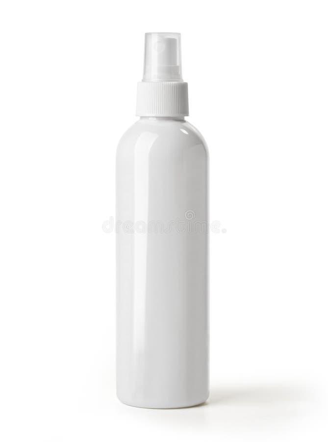 Botella cosmética fotografía de archivo libre de regalías