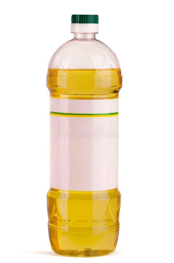 Botella de aceite imágenes de archivo libres de regalías