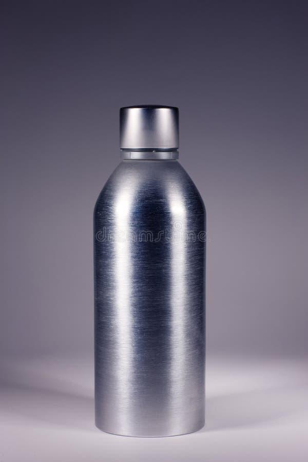 Botella De Acero Imagenes de archivo
