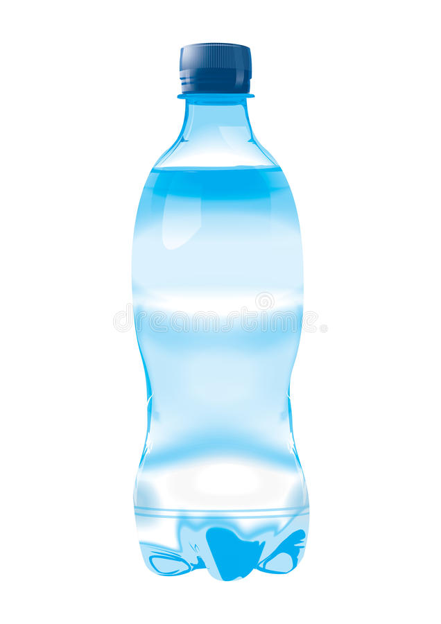Botella de agua libre illustration