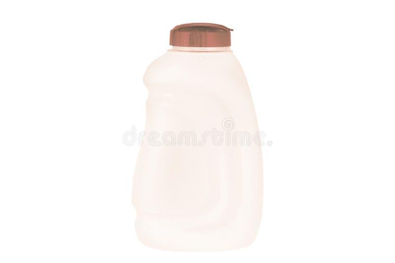 Botella de agua aislada en el fondo blanco imagen de archivo