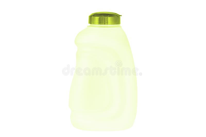 Botella de agua aislada en el fondo blanco fotos de archivo libres de regalías