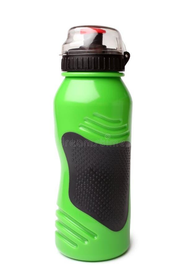 Botella de agua del plástico del deporte fotos de archivo libres de regalías