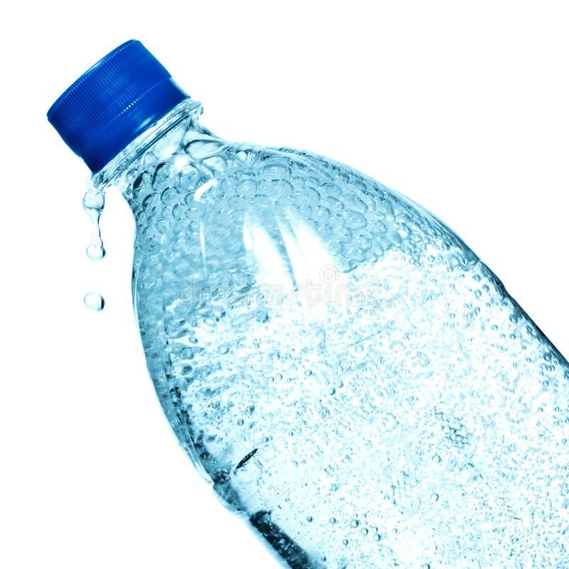 Botella de agua mineral imágenes de archivo libres de regalías