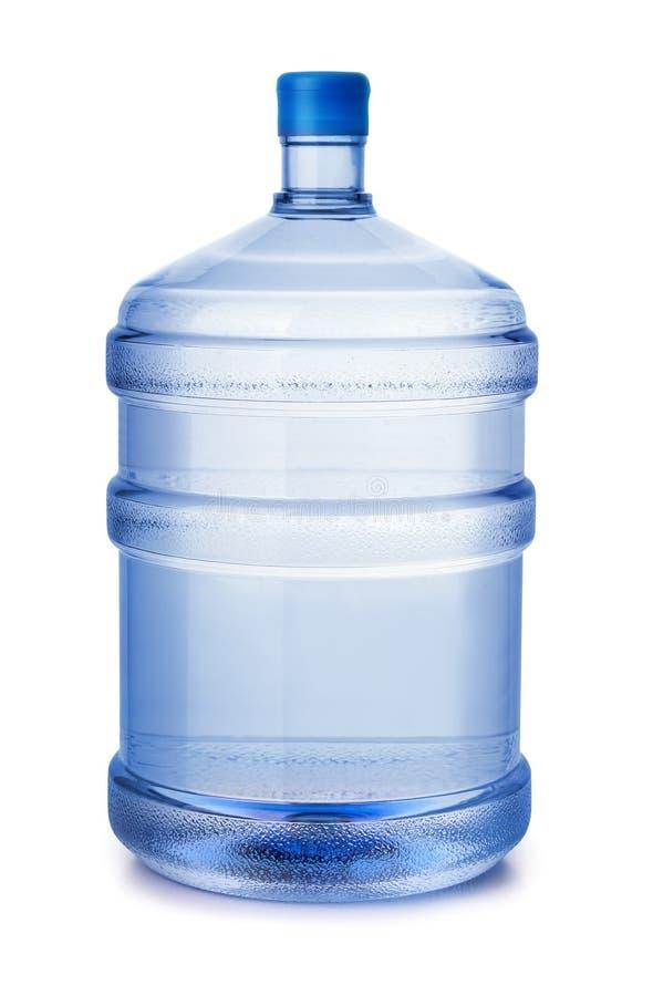 Botella de agua plástica fotos de archivo