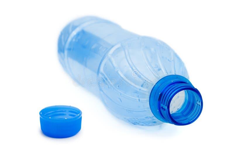 Botella de agua vacía imágenes de archivo libres de regalías