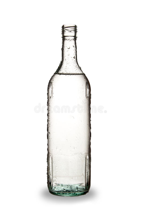 Botella de alcohol foto de archivo libre de regalías