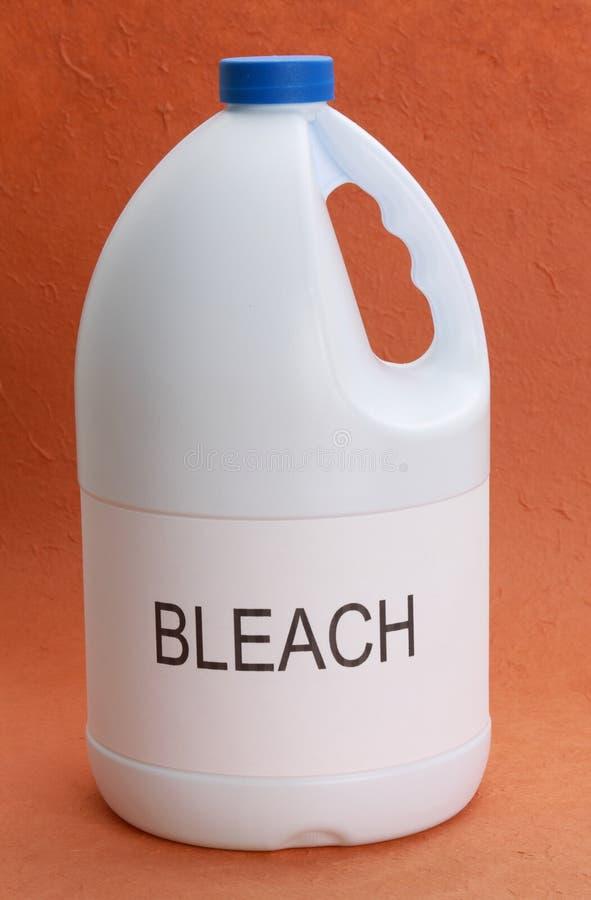 Botella de blanqueo imagen de archivo libre de regalías