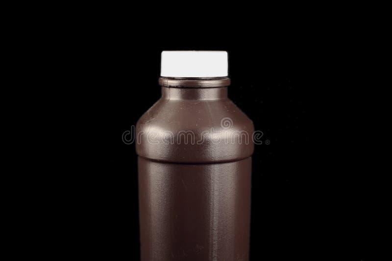 Botella de Brown foto de archivo libre de regalías