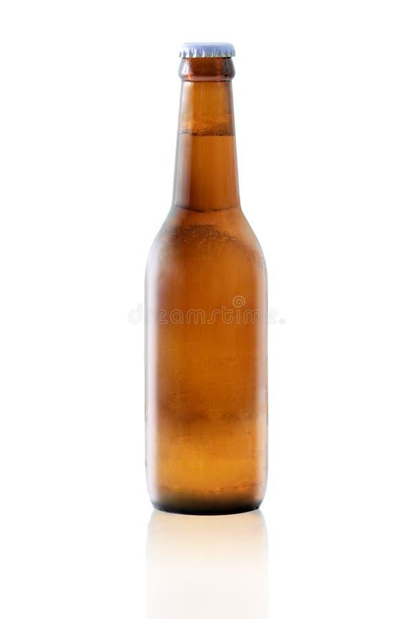 Botella de cerveza imágenes de archivo libres de regalías