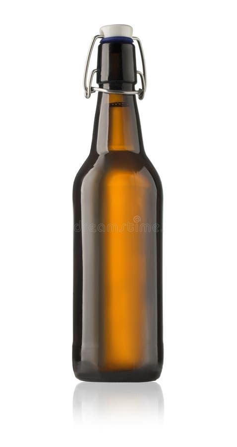 Botella de cerveza imagen de archivo