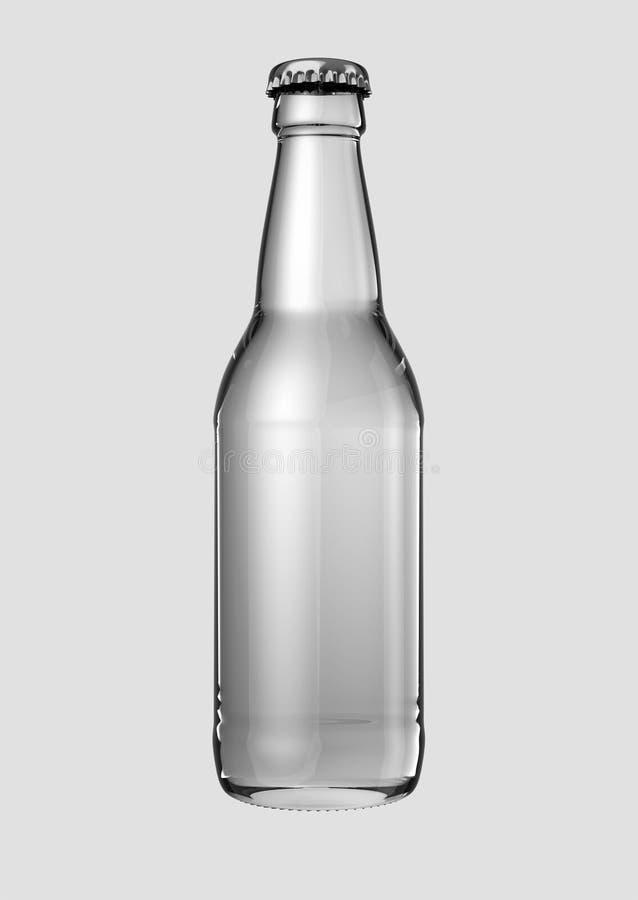 Botella de cerveza vacía libre illustration