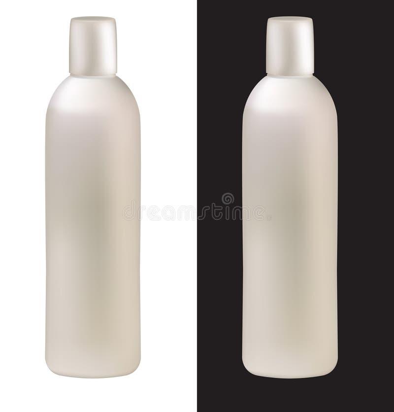 Botella de champú stock de ilustración