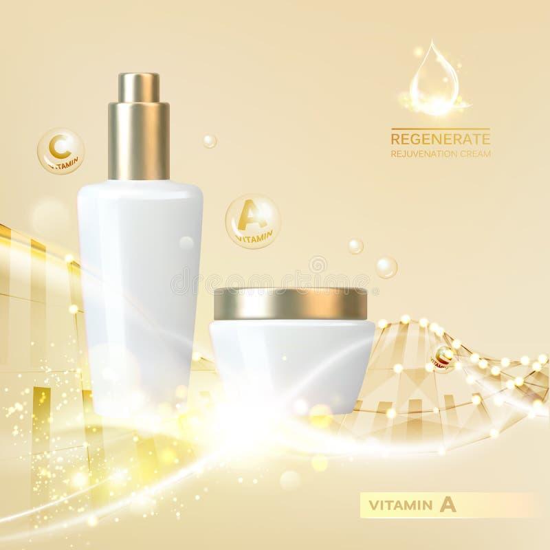 Botella de cosmético libre illustration