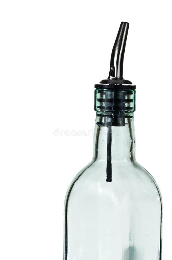 Botella de cristal fotografía de archivo libre de regalías