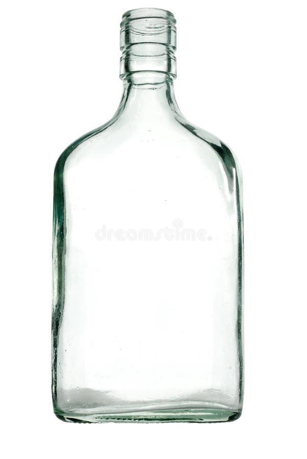 Botella de cristal imagenes de archivo
