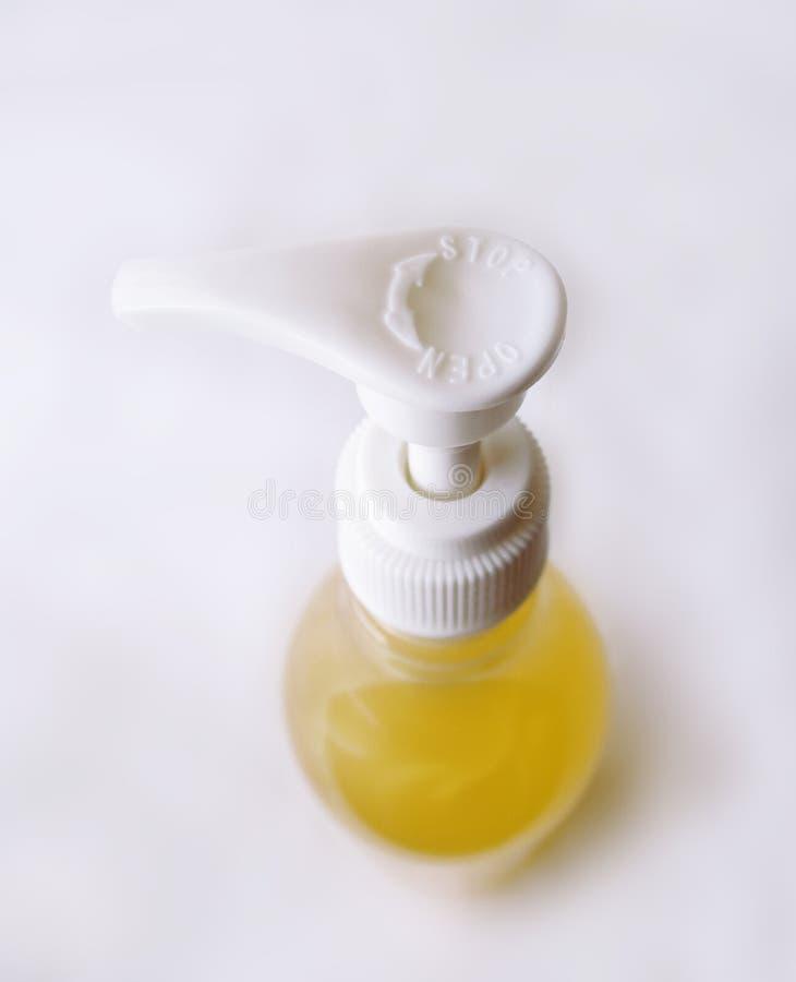 Botella de la bomba de mano fotografía de archivo libre de regalías