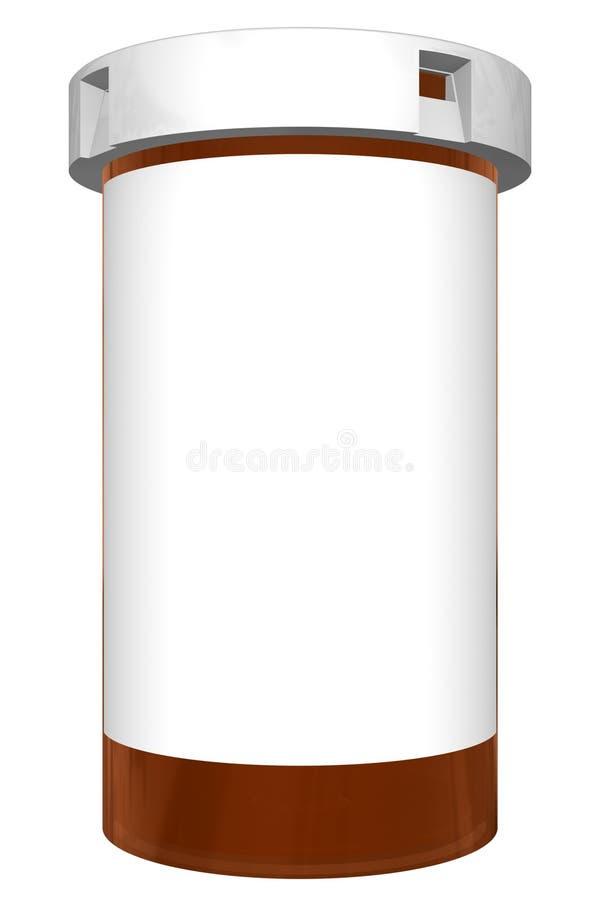 Botella de la prescripción libre illustration