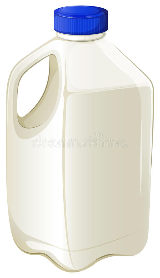 Botella de leche libre illustration