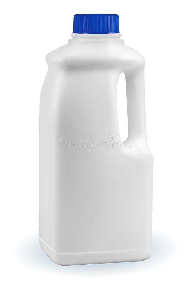 Botella de leche stock de ilustración