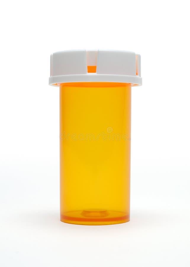 Botella de píldora imagenes de archivo
