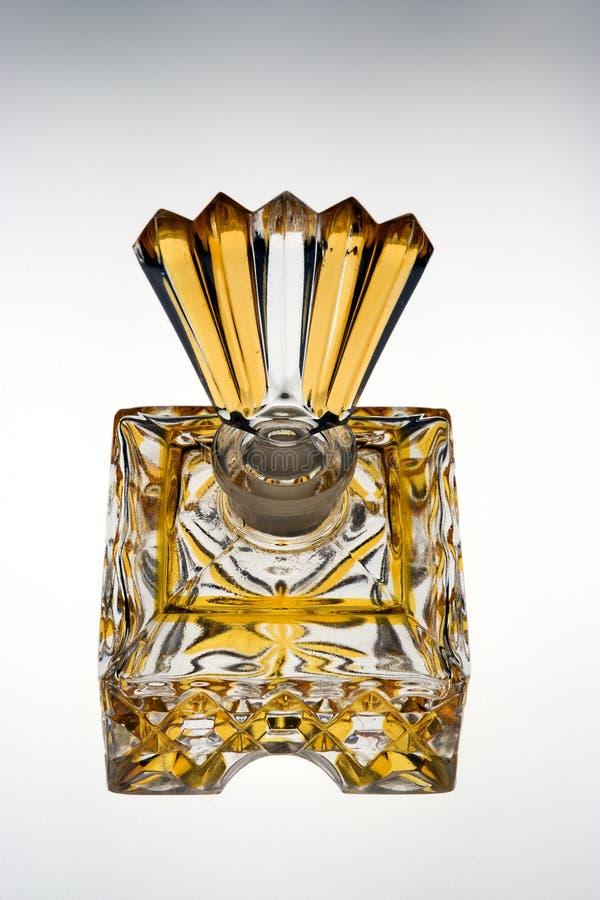 Botella de perfume antigua fotografía de archivo