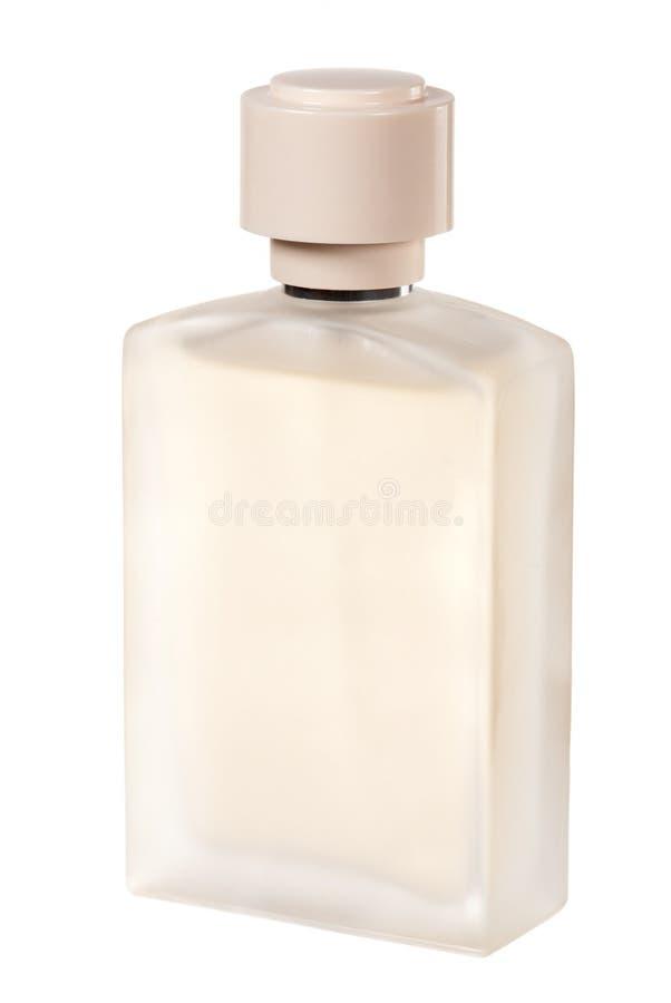 Botella de perfume de la estera imagen de archivo libre de regalías