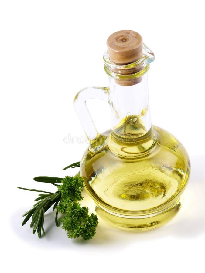 botella de petróleo vegetal imagenes de archivo