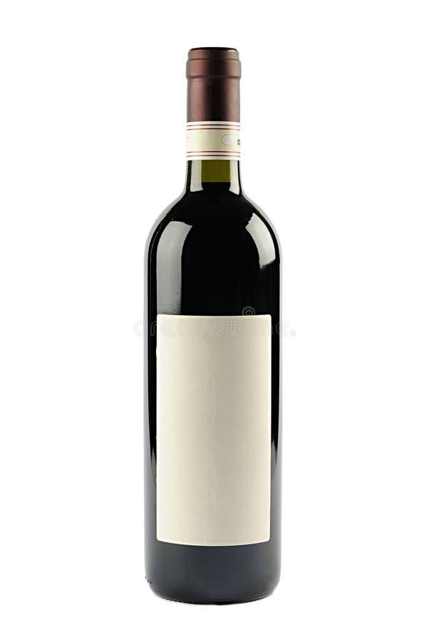 Botella de vino imágenes de archivo libres de regalías