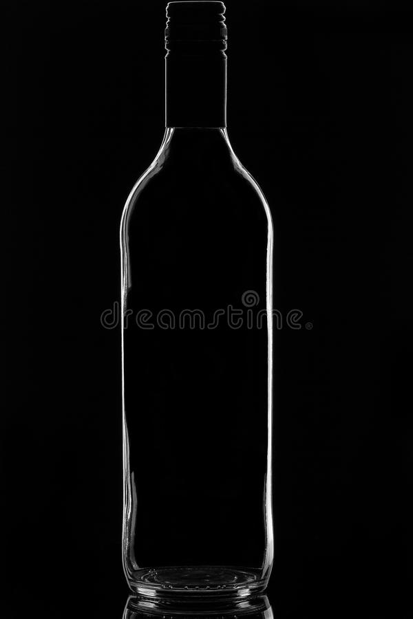 Botella de vino fotografía de archivo libre de regalías