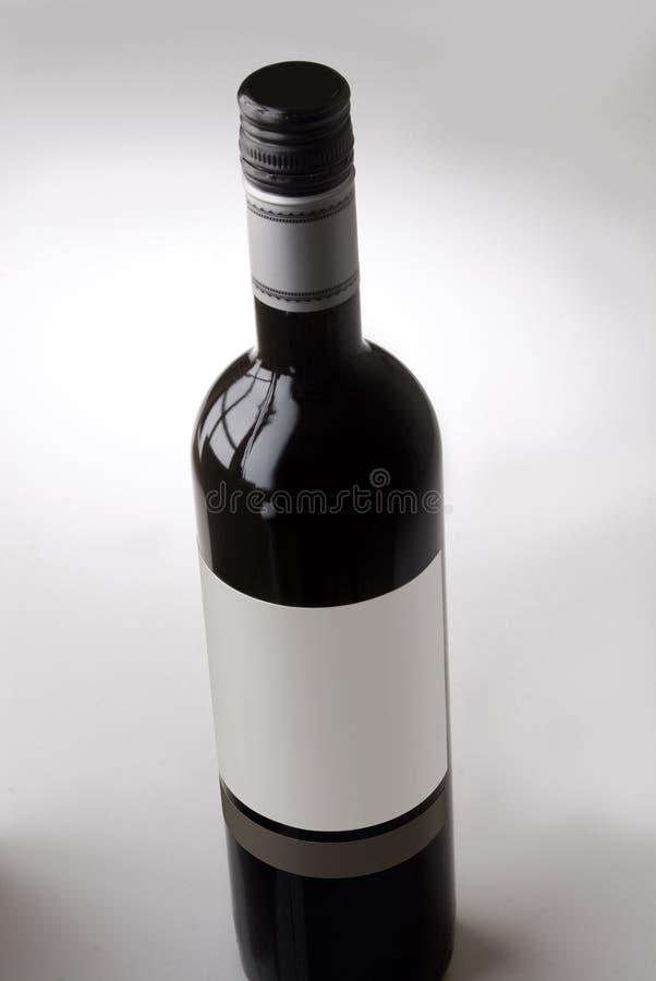 Botella de vino fotografía de archivo