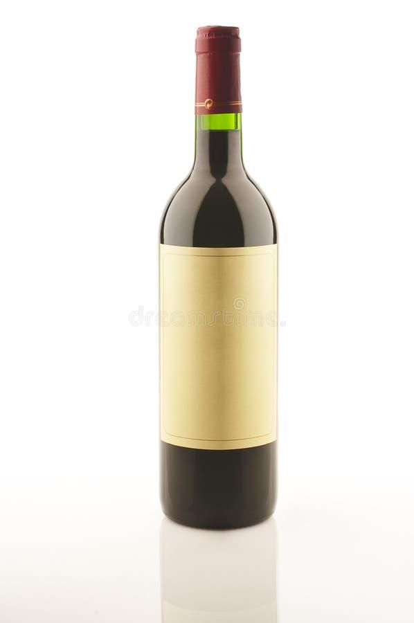 Botella de vino fotos de archivo
