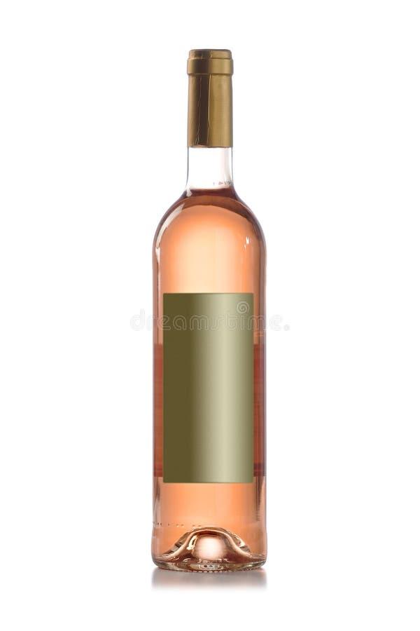 Botella de vino del granuja sin etiqueta imágenes de archivo libres de regalías