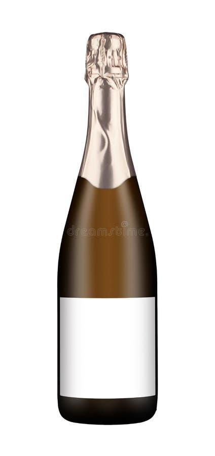 Botella de vino espumoso fotos de archivo libres de regalías
